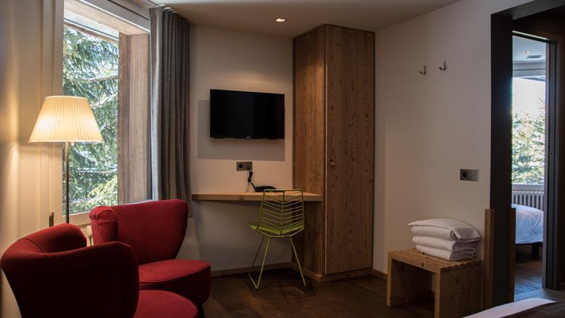 Chambre triple - Hôtel Lapiaz Flaine