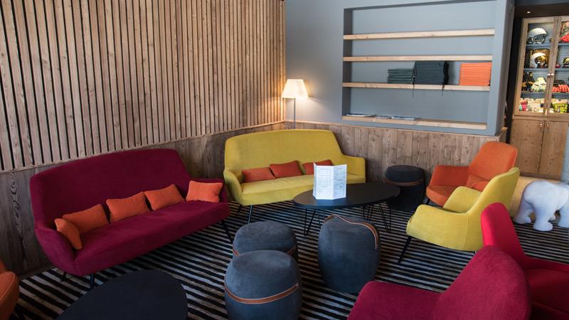 Hôtel Lapiaz - Espace cosy
