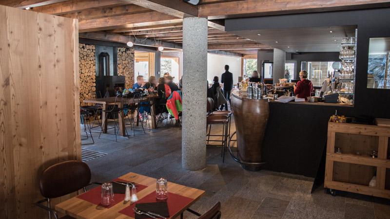 Restaurant Lapiaz à Flaine